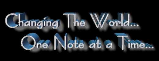 Changing the world... One Note at a Time